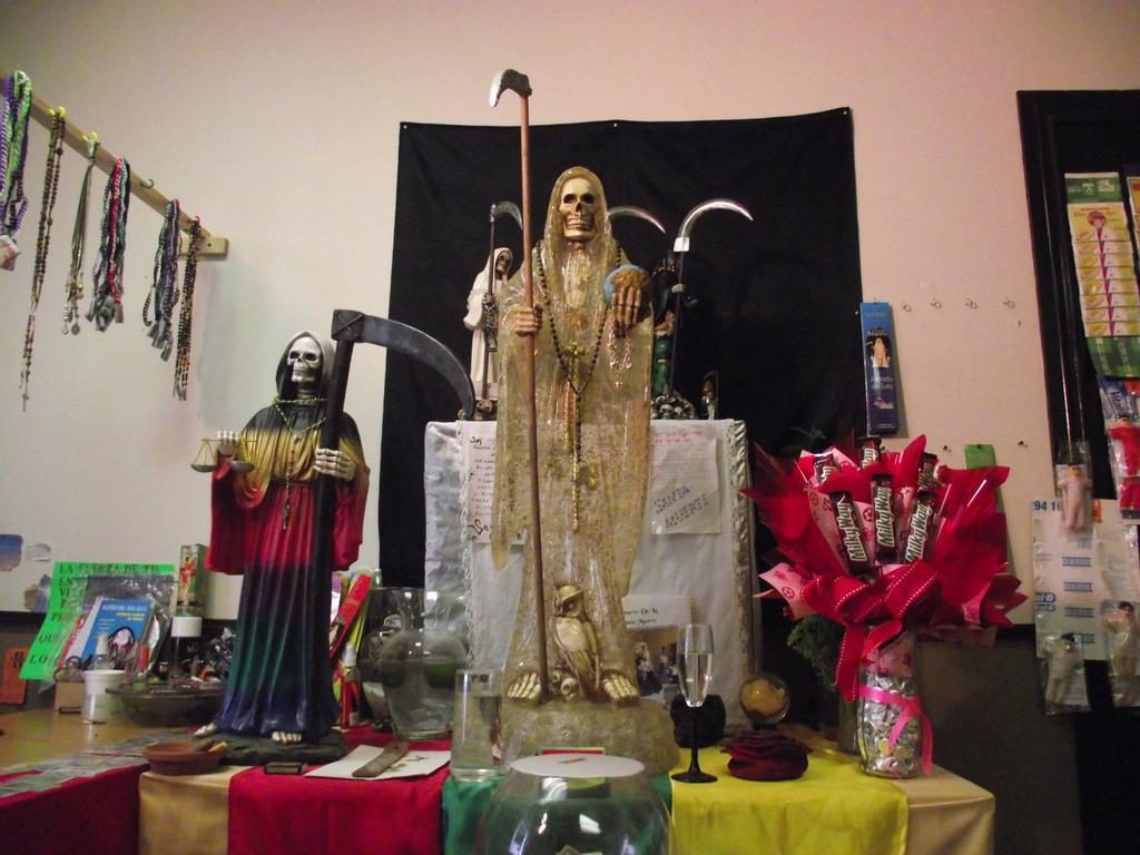 Oración a la Santa Muerte Negra