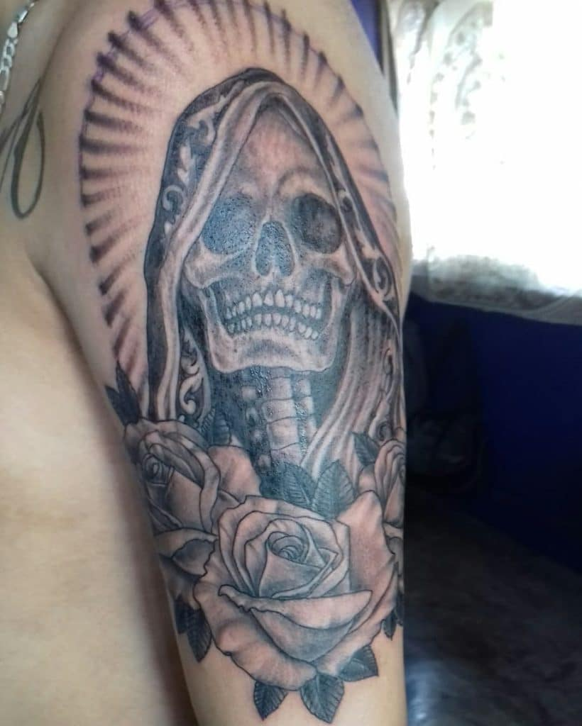 Tatuajes de Santa Muerte