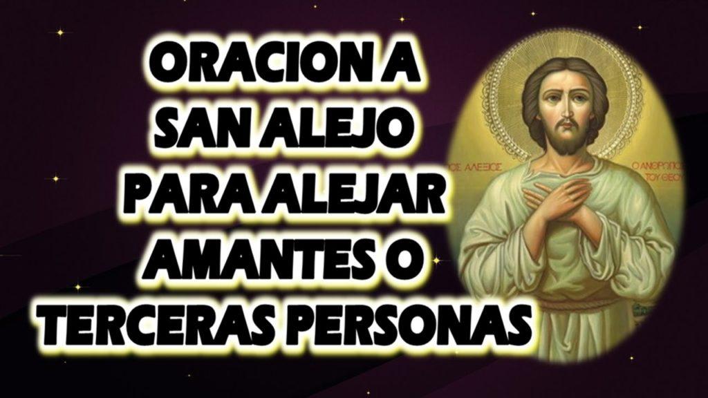 Oración a San Alejo para alejar amantes