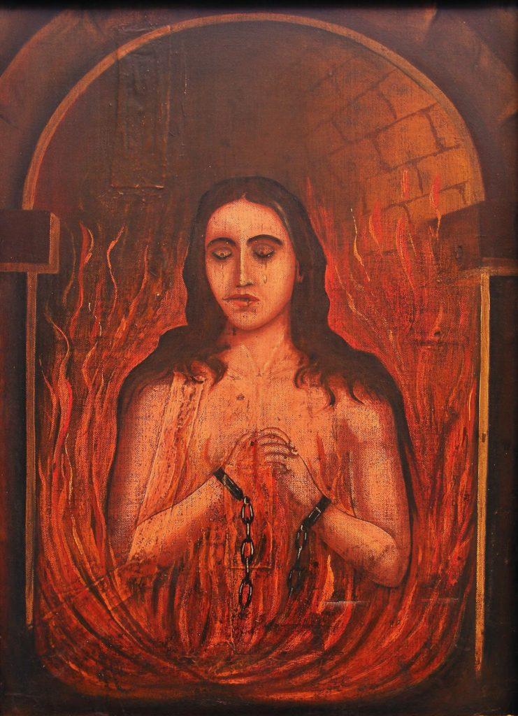 Oración al ánima sola para destruir