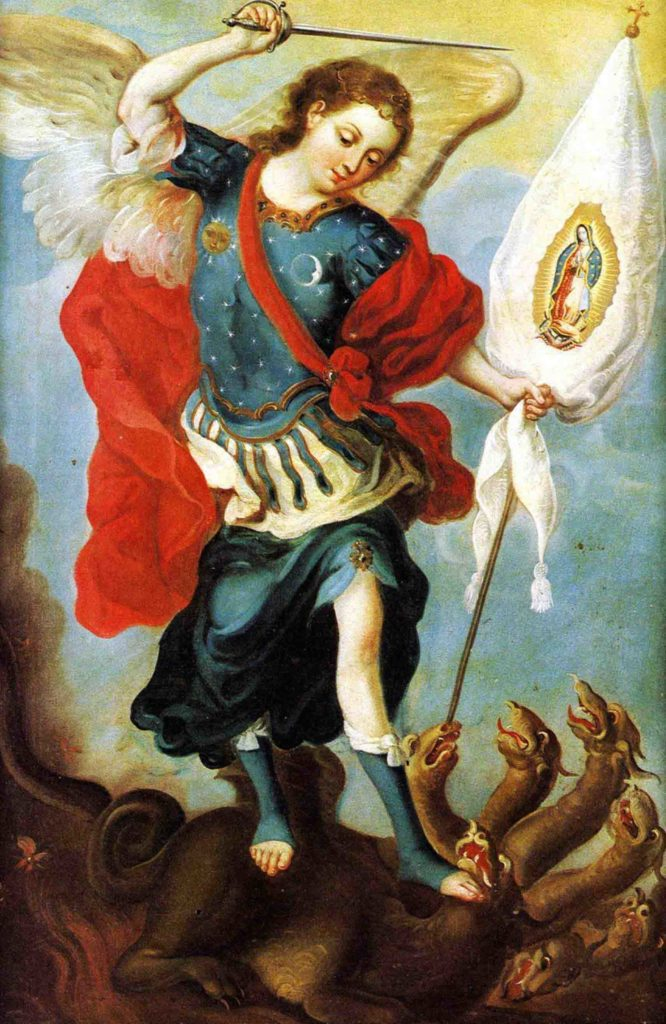 San Miguel Arcángel para recuperar el amor