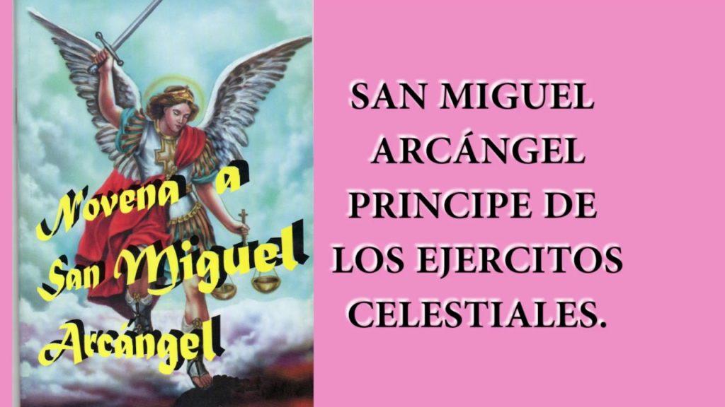 oración de revocación a san miguel de arcangel