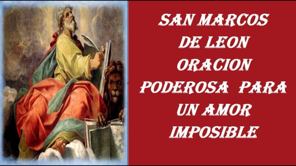 NOVENA A SAN MARCOS DE LEÓN