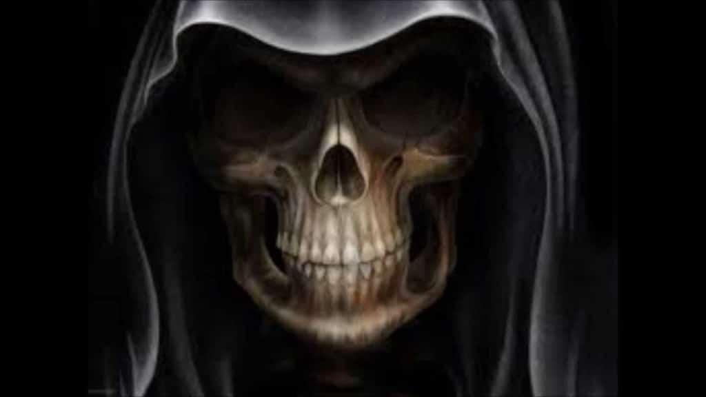 Santa Muerte Negra