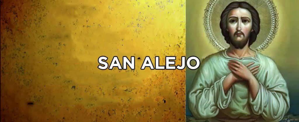 oración a san alejo para alejar