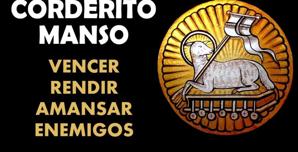 ORACIÓN DEL CORDERITO MANSO PARA EL SER AMADO