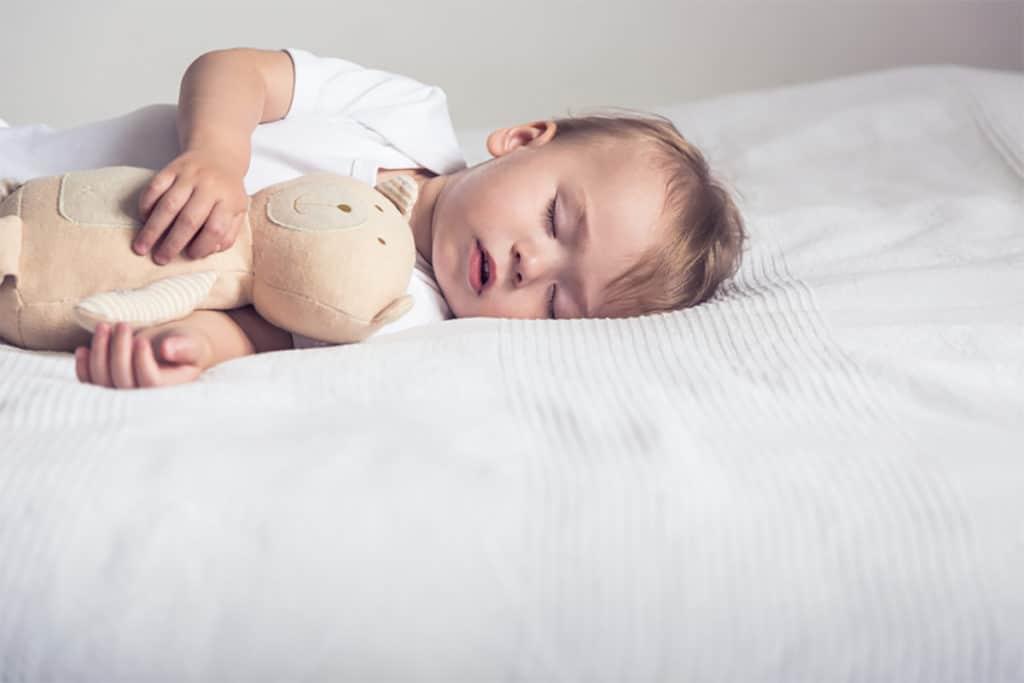 Oración para dormir a mí bebé