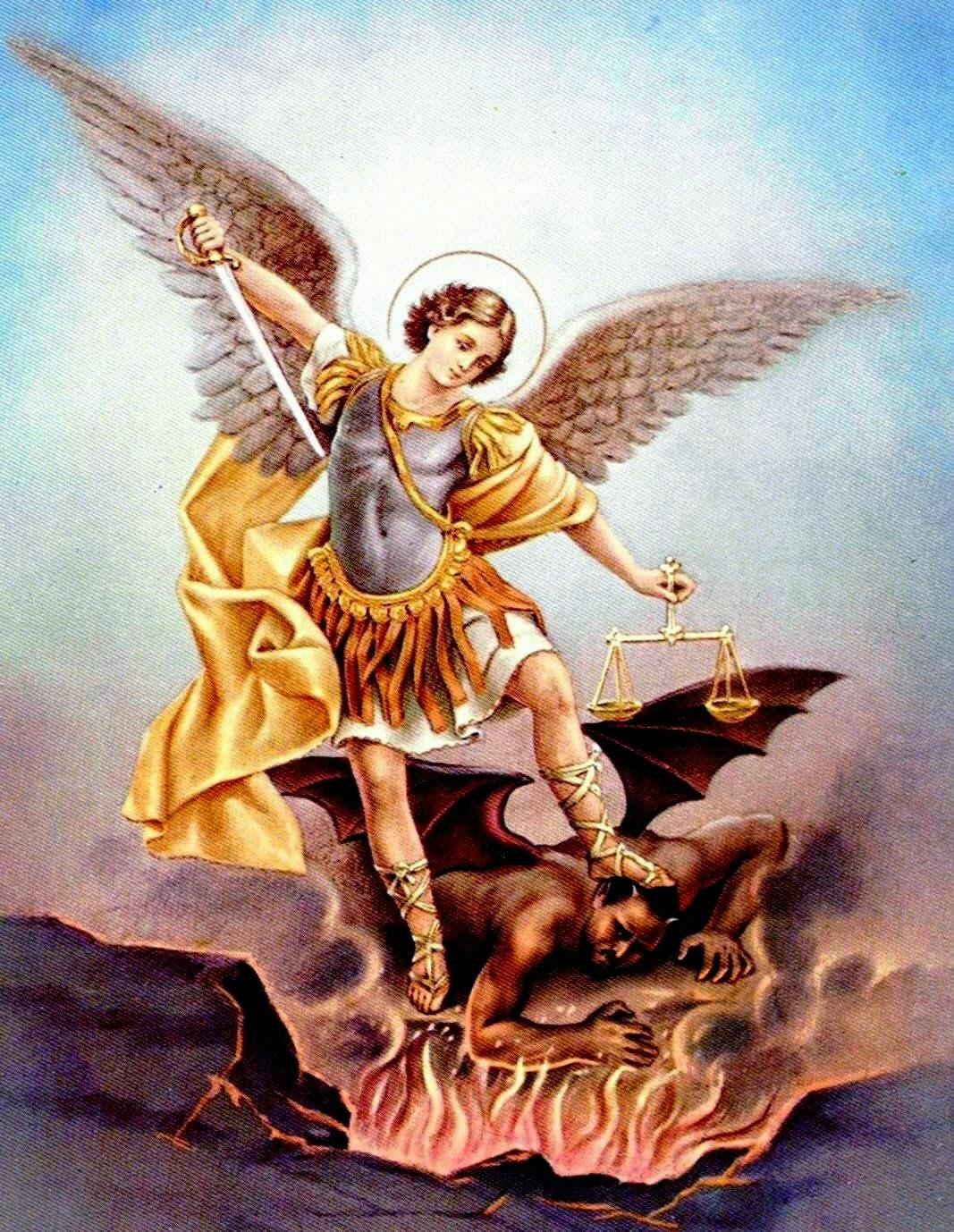 oración a san miguel arcangel para limpieza