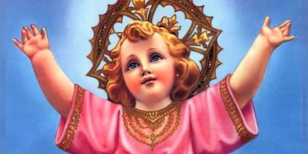 oración al niño de la salud