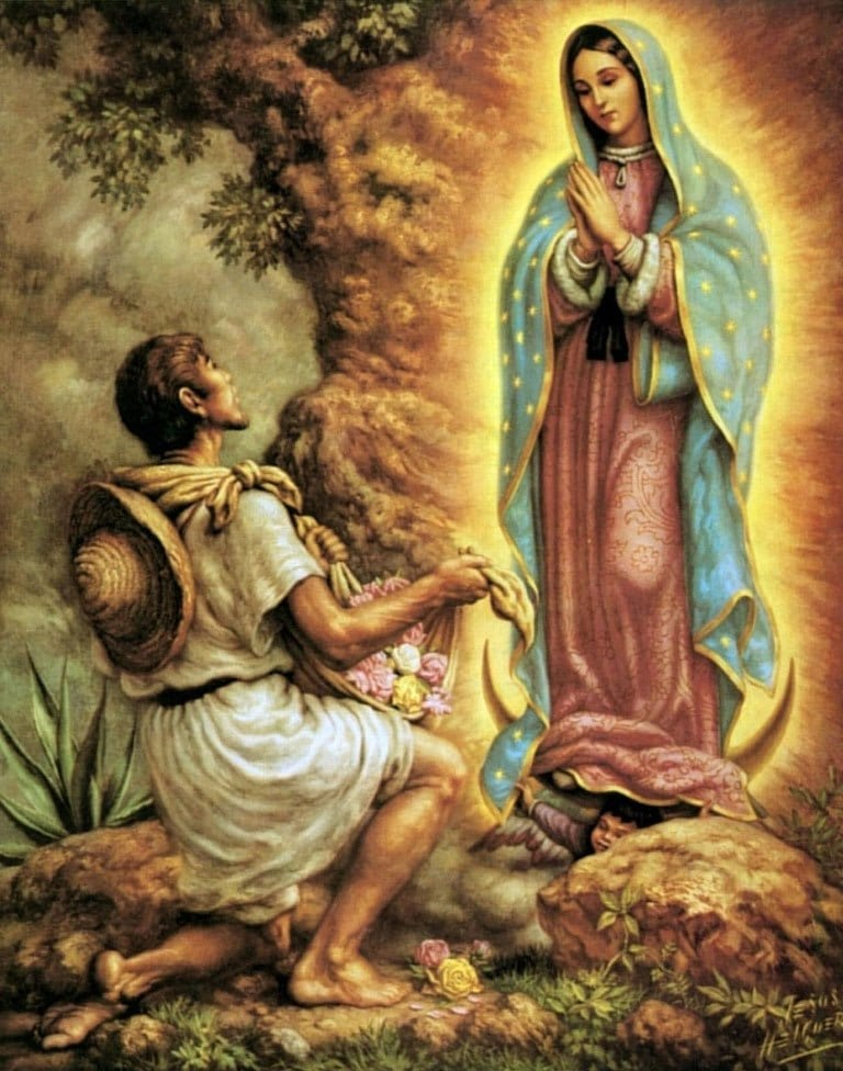 Oración a la Virgen de Guadalupe