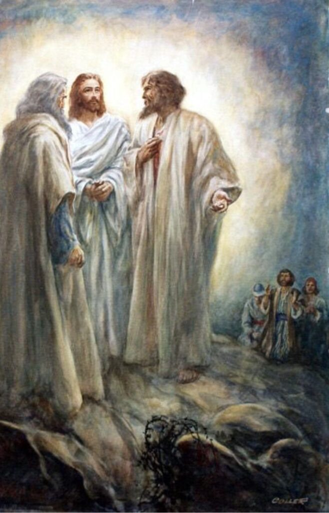 transfiguración de Jesús